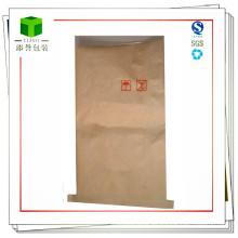 Bolsa de papel de la costura inferior personalizada para la bolsa de té