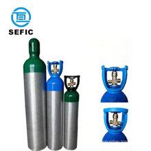 20L with valve medical oxygen aluminum cylinder