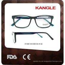 2017 luxuriös im Design neuesten Mode Männer Acetat optische Rahmen Brillen Rahmen optische Gläser Rahmen
