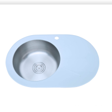Round Bowl with Board tempered glass bowl