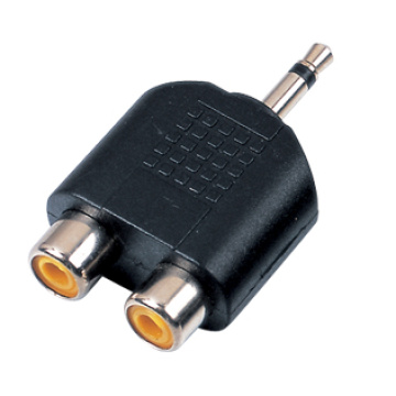 Male Plug Stereo Adaptor Connectors
