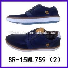 Los nuevos hombres con estilo al por mayor calzan los zapatos de los hombres de lujo de los zapatos 2015