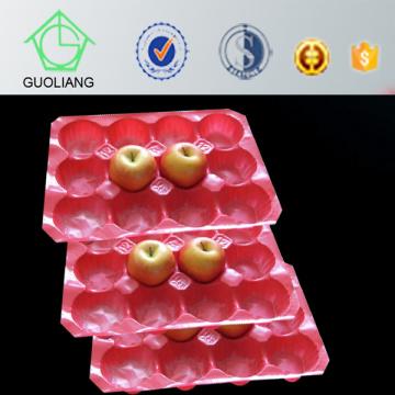 Emballage de boursouflure Peach Kiwi Pomme Utilisation de la tomate en plastique PP Tray Liner