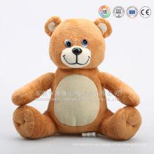 Manufactura de juguetes de regalo que hace el oso de felpa ipad almohada titular