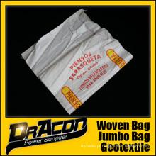Saco de polipropileno tecido durável 50kg