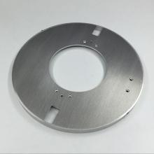 Pièces en aluminium brossé de précision