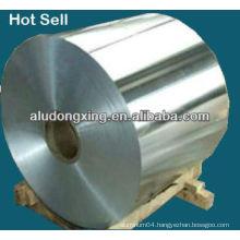 Aluminum alloy foil for electric radiator