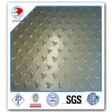7075 T6 Alliage d'aluminium Threade Chekerd Steel Plate