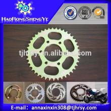 Цепное колесо мотоцикла и комплект цепи (завод прямые продажи)