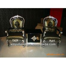 Armrest cadeira de madeira e conjuntos de mesa XYD113