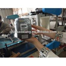 Contrôle informatique roulement T-shirt et sac plat faisant la machine sac de papier manuel faisant la machine