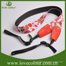 Custom DSLR Camera Neck Strap Polyester Camera Lanyard