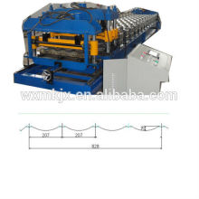 automatic glazed step tile roll forming machine