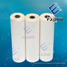 Película termal del rollo de 24mic BOPP para la laminación caliente con el pegamento de EVA (FSEKO-1509 y 1212)