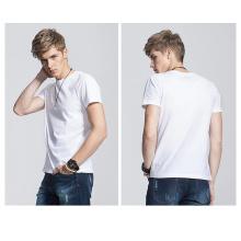 Soem-preiswerter Verkauf Plain 100% Baumwollt-shirt