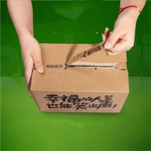 Carton Box with Zipper Opening