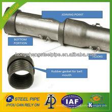 Tubo de registro sónico / tubo para la construcción