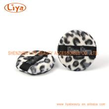 Heißer Verkauf Leopard kosmetische Blätterteig In unterschiedlicher Form