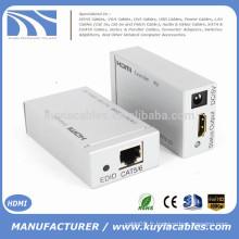 HDMI Extender Ethernet de haute qualité avec et plus CAT5 CAT6 Converter 1080P 3D