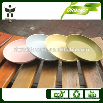 Plateau de repas promotionnel coloré 7inch