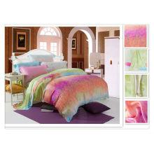 40 * 40s 133 * 72 Atacado reativo impressão Tencel Consolador Bed Design Sets