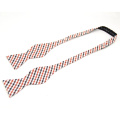 Corbata de lazo decorativa clásica del algodón del modelo, pajarita de encargo