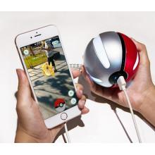 Smart RoHS Pokeball Power Bank 10000 мАч, пользовательский банк питания Pokemon Go, оптовый мобильный