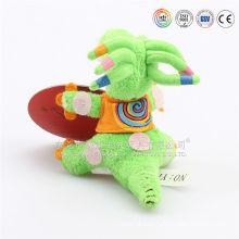 mini verde macio recheado de pelúcia dinossauro brinquedos