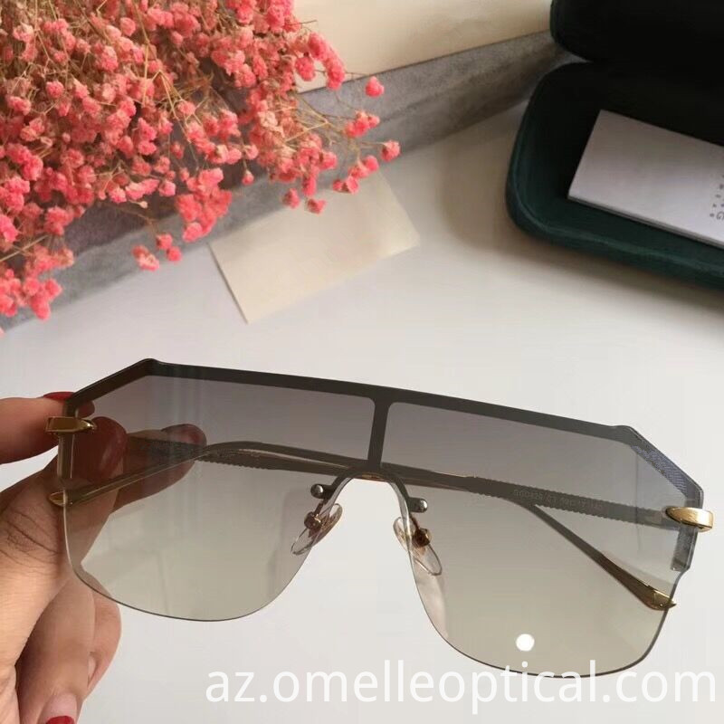 Rimless Sunglasses For Lady
