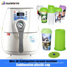 newest product 3d mini sublimation vacuum machine for sublimation straight plastic cup/mug printing