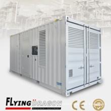 Worryfree reliable quality best price UK engine Uk altnator UK controller 1000kva container electric generator