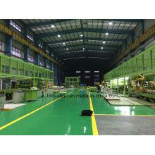 Prefab Stahlkonstruktion Stahlrahmen für staubfreie Werkstatt