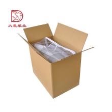 Boa qualidade eco friendly reciclável caixa de embalagem de papelão por atacado