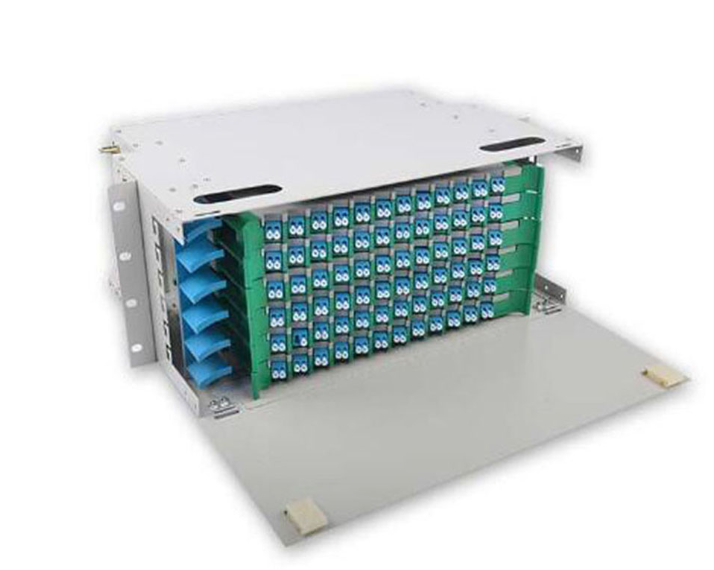 Fiber Optical 19 Odf Rack Mount