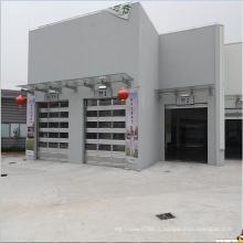 Portes de garage en verre bon marché