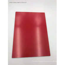 Red Antibacterial Mouldproof PVDF Aluminum Composite Panel for Ceiling