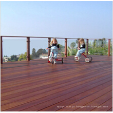 Revestimento de madeira Decking da praia de Ipe para o uso exterior