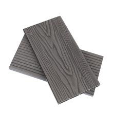China Factory Wholesales Price Embossed Wood Grain WPC Composite Plastic Flooring Lumber Waterproof Wood Plastic Composite WPC Decking Board