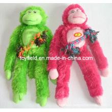 Rope Pet Toy Dog Plush Stuffed Squeaky Dog Toy