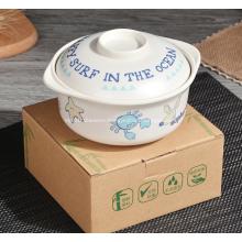 Cute Animal Cartoons Plastic Bowls for Children