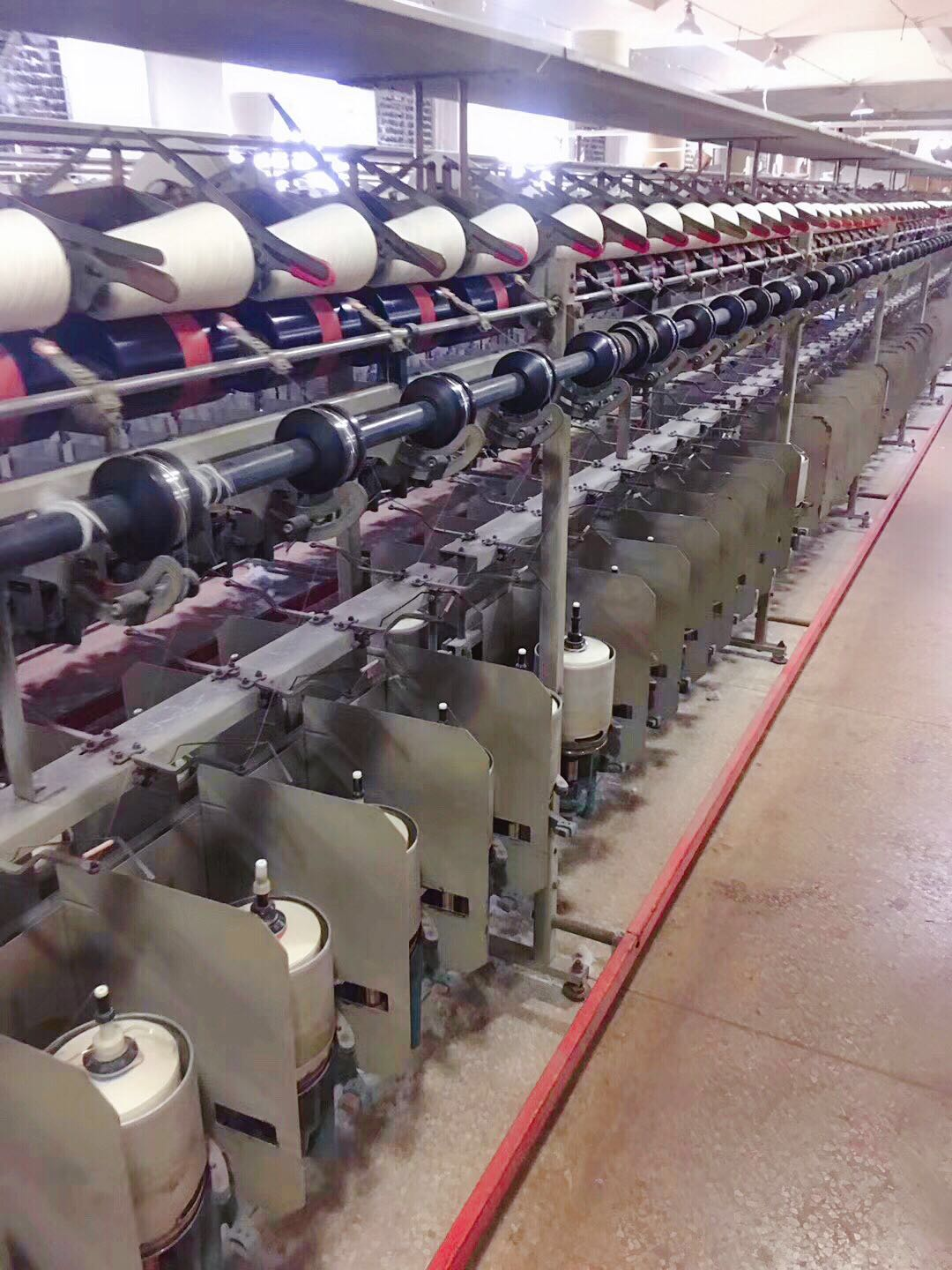short fiber machine
