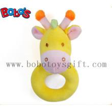 """6"""" Yellow Giraffe Plush Baby Holder Toys"""