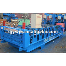 QJ galvanisierte Doppelschicht-Dachplatte, die Maschine herstellt