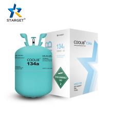 High Quality Tetrafluoroethane 30lb R134a Refrigerant Gas