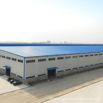 Pre-Engineered Large-Span Light Structural Steel Workshop