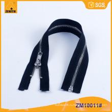 Oeko-tex стандартный более дешевый изготовленный на заказ застежка -молния ZM10011 металла