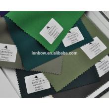 High end light lycra wool green suit custom fabric