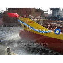 Airbags marinhos para elevação de navios