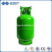 Tragbare 12,5 kg selbstgebrauchte LPG-Gasflaschentanks für Simbabwe