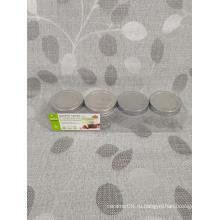 4 упаковки стеклянной кухни для специй